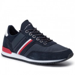 TOMMY HILFIGER SNEAKER HOMBRE ICONIC SOCK RUNNER FM0FM02409 403 MIDNIGHT  TOM066