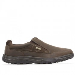 ROCKPORT XCS ZAPATOS DEPOTIVOS WATERPROOF HOMBRE TT WP SLIPON V82286 DARK BROWN ROCK005