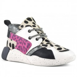 COLORS OF CALIFORNIA SNEAKERS PRINT MUJER HC.SPEED030 WHITE COL015