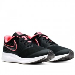 NIKE STAR RUNNER 2 (GS) DEPORTIVO RUNING MUJER AQ3542-002 BLACK/SUNSET PULSE-BLACK-WHITE NIKE114