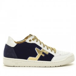 SERAFINI SAN DIEGO LOW - BLUE, WHITE & GOLD AI17DSDL01