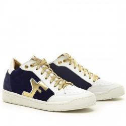 SERAFINI SAN DIEGO LOW - BLUE, WHITE & GOLD AI17DSDL01