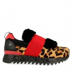 GIOSEPPO Sneakers estampado de leopardo 41098
