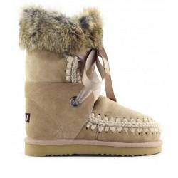 MOU eskimo lace and fur CAM Camel