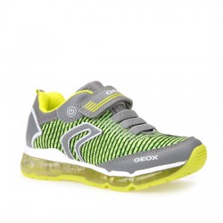 GEOX JR ANDROID BOY J8244A014BUC0666 GREY/LIME GEOX006