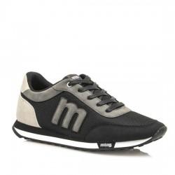 MUSTANG Zapatillas sneakers hombre Funner Mod.: 82600-37592 RASPE NEGRO/GRIS MUST008