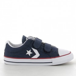 CONVERSE STAR PLAYER EV V OX 715467 NAVY/WHITE/RED CON030