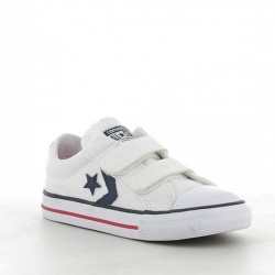 CONVERSE STAR PLAYER EV TRIPLE V OX 715660 WHITE/NAVY/RED CON028