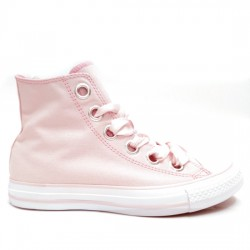 CONVERSE CHUCK TAYLOR ALL STAR BIG EYELETS HI 559917C BARELY ROSE CON019