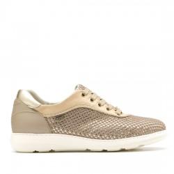 ON FOOT  SIMPLICITY DEPORTIVO REJILLA 30001 DORADO OFO04