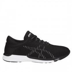 ASICS FUZEX RUSH ADAPT T835N - 9001 black/white/dark gre ASI031