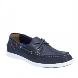 SEBAGO NAUTICO Litesides Two Eye NAVY LEATHER 7000hj0 / B864065 BLUE NAVY SEB002