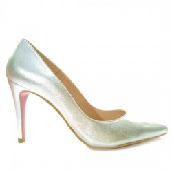 ALBO ORIGINALS STILETTO PIEL METALIZADO 958243 31601 ORO ALBO036