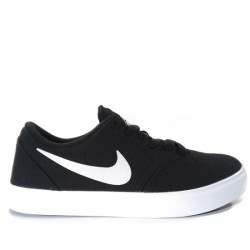 NIKE SB CHECK SOLARSOFT CANVAS 905373 003 NEGRO/BLANCO NIKE053