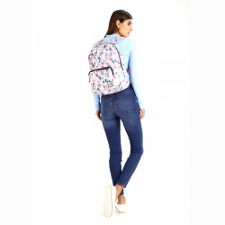 THE PACK SOCIETY Pink Botanical Classic backpack