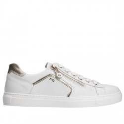 NERO GIARDINI Sneakers P805262D Blanco/Platino 707 NERO002
