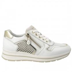 NERO GIARDINI Sneakers P805241D Skipper Bianco 707 NERO003