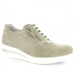 NERO GIARDINI Sneakers P805060D 410 Sabbia ARENA NERO005