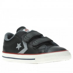 CONVERSE STAR PLAYER EV 2V OX 758155C BLACK CON038