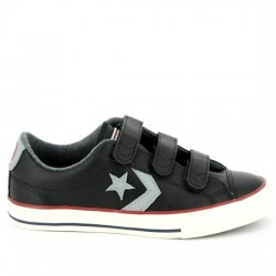 CONVERSE STAR PLAYER EV 2V OX 658155C BLACK CON039
