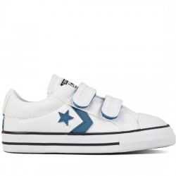 CONVERSE STAR PLAYER EV 2V OX 760755C WHITE/AEGEAN STORM CON040