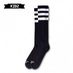 AMERICAN SOCKS Back in Black - Kids Knee High ASK002