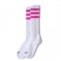 AMERICAN SOCKS Pink Lavigne - Knee High AS007