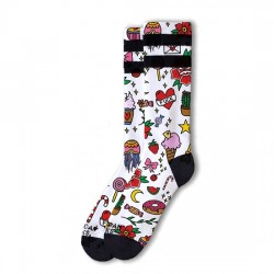 AMERICAN SOCKS Rosey Jones Tattoo Girl - Mid High AS036