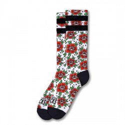 AMERICAN SOCKS Socks n' Roses - Mid High AS043