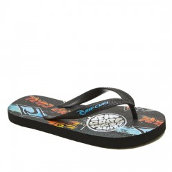RIP CURL PALA / CHANCLA BRUSH STROKES TKTE80 BLACK RIP021