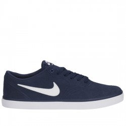 NIKE SB ZAPATILLA NIKE SB CHECK SOLAR 843895 400 Midnight Navy / White NIKE057