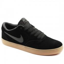 NIKE SB Zapatillas de skateboard - Hombre Check Solarsoft 843895-003 Black/Anthracite NIKE060