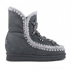 MOU INNER WEDGE SHORT CRYSTAL STARS BRUTALIST GREY MOU037