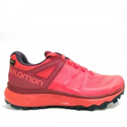 SALOMON TRAILSTER GTX W 404886 HIBISCUS/BEET RED/GRAPHITE SAL012