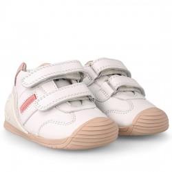 BIOMECANICS Deportivos para bebé de niña 151157 BLANCO Y ROSA BIOM011