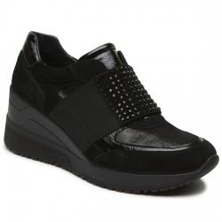 amp;co Cordones Mujer Sin Negro 2150700 Para Cuña Igi Sneaker Igi001 Donna CxdrtshQB