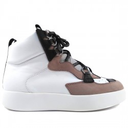 MY GREY BY GREYMER DEPORTIVO ESTILO BASKET PIEL DIGITAL BIANCO TUBE 012.010 BLANCO GREY003