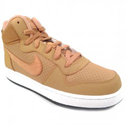 NIKE COURT BOROUGH MID 839977-701 DEPORTIVO PIEL WHEAT/WHEAT CAMEL NIKE069