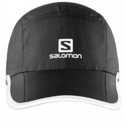 SALOMON GORRA RUNNING UNISEX REFLECTANTE XA CAP REFLECTIVE L39048100 NEGRO SAL015