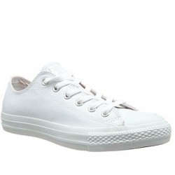 CONVERSE CHUCK TAYLOR ALL STAR MONO LEATHER- OX 136823C White CON052