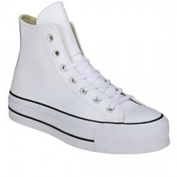 CONVERSE CHUCK TAYLOR ALL STAR LIFT CLEAN - HI 561676C White/Black CON047