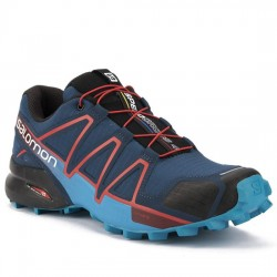 SALOMON ZAPATILLA DEPORTE TRAIL SPEEDCROSS 4 400797 POSEIDON/HAWAIIAN/RED MARINO SAL021