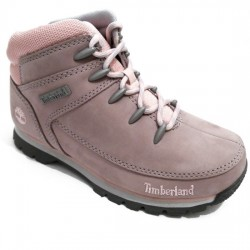 TIMBERLAND BOTIN TODDLERS EURO SPRINT GULL GRAY A1RPF ROSA/GRIS TIM035
