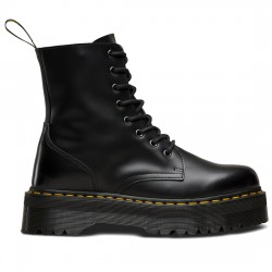 DR MARTENS BOTA MUJER PLATAFORMA JADON POLISHED SMOOTH 15265001 BLACK MAR011