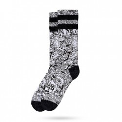 AMERICAN SOCKS ALIENS EXIST - MID HIGH AS063 AS063