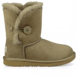 UGG BOTAS NIÑOS Bailey Button II Boot Kids WATER-RESISTANT 1017400K ANTILOPE KAKY UGG032