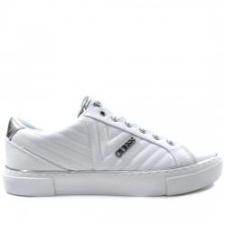 GUESS SNEAKER ZAPATILLA COSTURAS FL5GRVELE12 WHITE GUE030