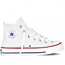 CONVERSE YOUTH YTHS CT CORE - HI 3J253C SNEAKER BOTÍN LONA OPTICAL WHITE CON054