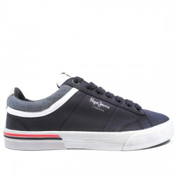 PEPE JEANS SNEAKER LONA HOMBRE 'NORTH COURT' STYLE PMS30530 595 NAVY PPJ008
