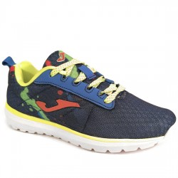 JOMA J.ALASKA JR 603 DEPORTIVO RUNING NIÑO J.ALASS-603 NAVY-ROYAL-ORANGE JOMA009